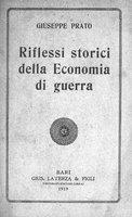 Riflessi storici della economia di guerra
