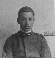 Aspirante pilota della Prima Guerra mondiale, matricola n. 2034